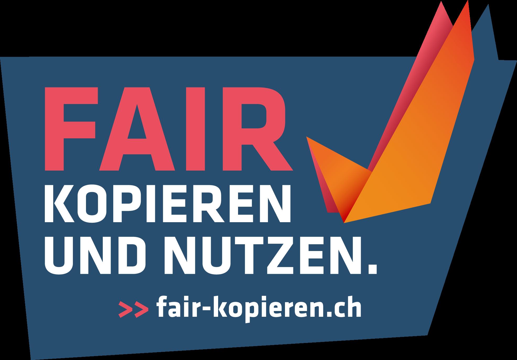Fair Kopieren Logo farbig www