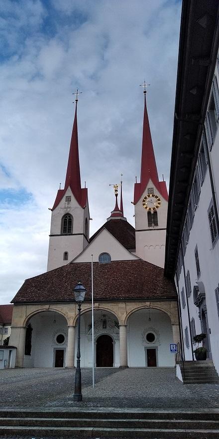 Kirche Autorenevent Klett und Balmer