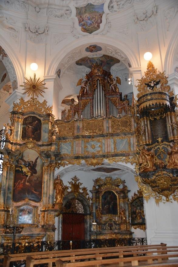 Kirche innen Autorenevent Klett und Balmer