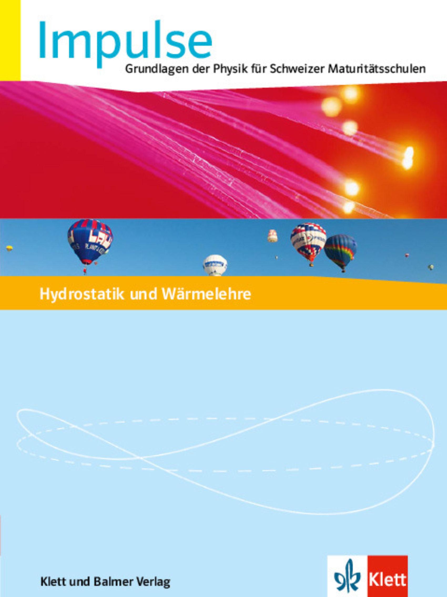 Themenheft impulse hydrostatik 978 3 264 84551 8 klett und balmer