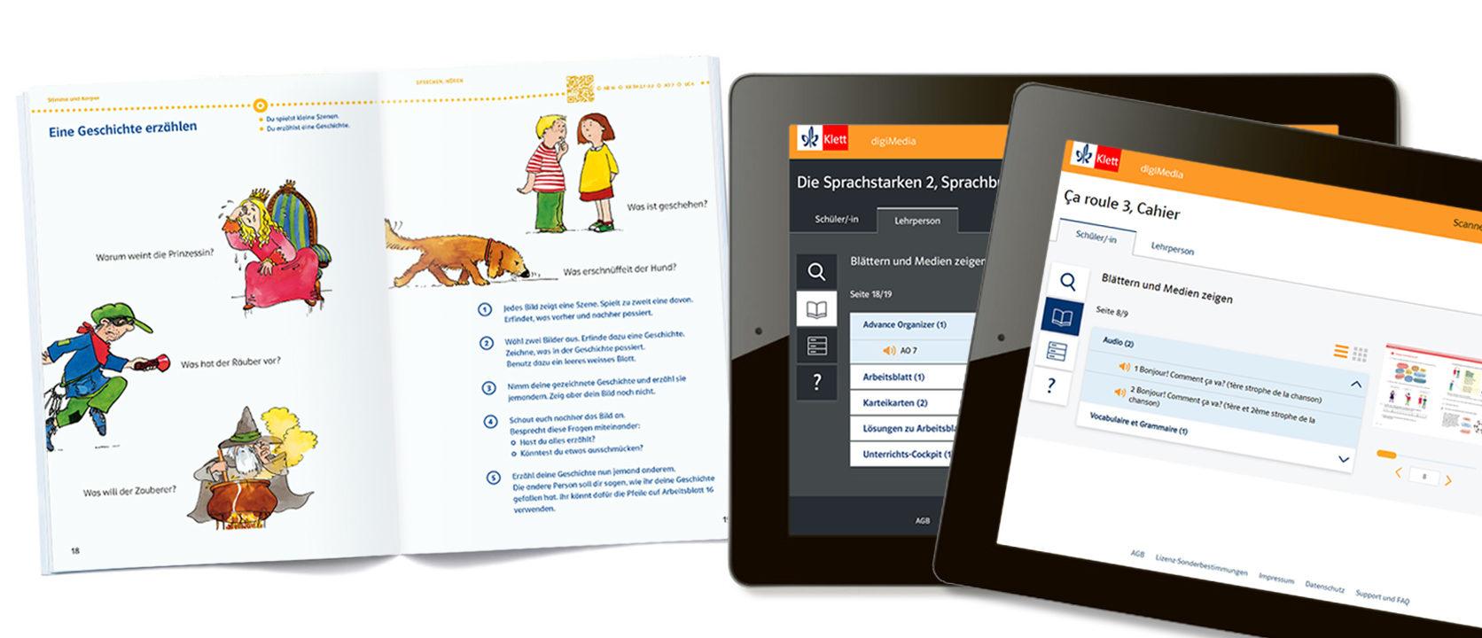 Montage digi Media 2 Tablets