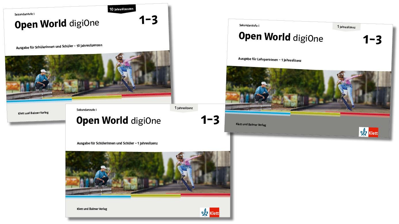 News open world digi one klett und balmer
