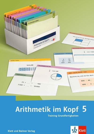 Arithmetik im Kopf 5 Karteikarten 978 3 264 83812 1 klett und balmer