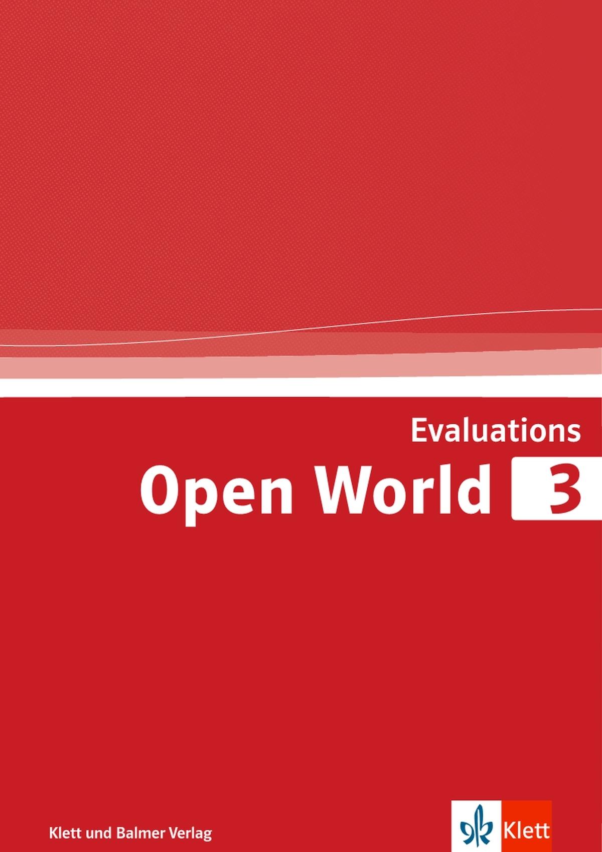 Evaluations open world 3 978 3 264 84266 1 klett und balmer
