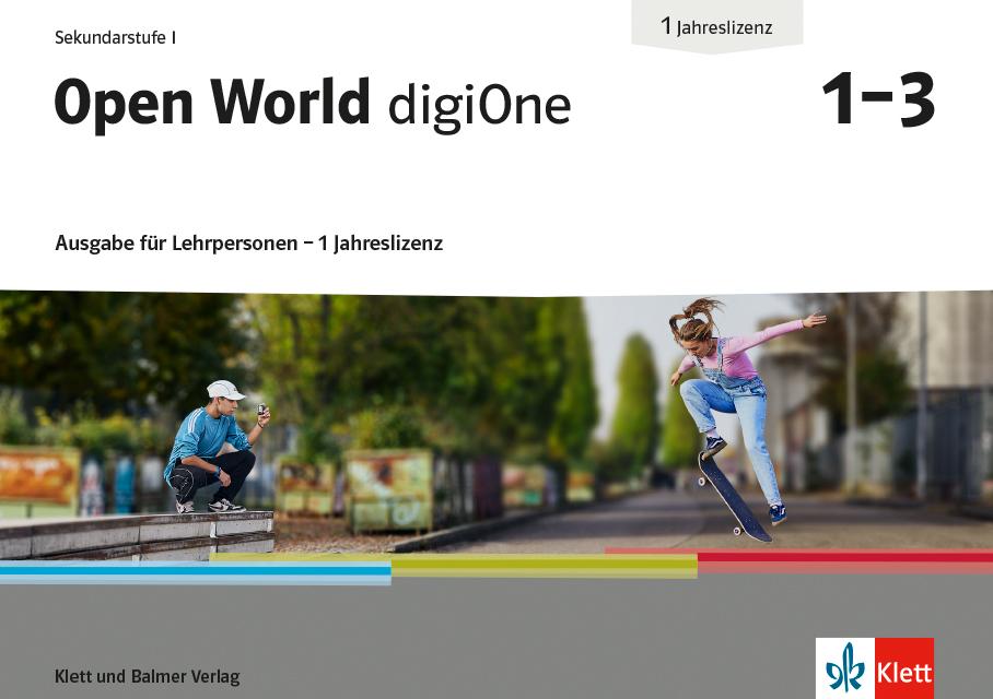 Open World digi One Ausgabe fuer LP 978 3 264 84827 4 klett und balmer