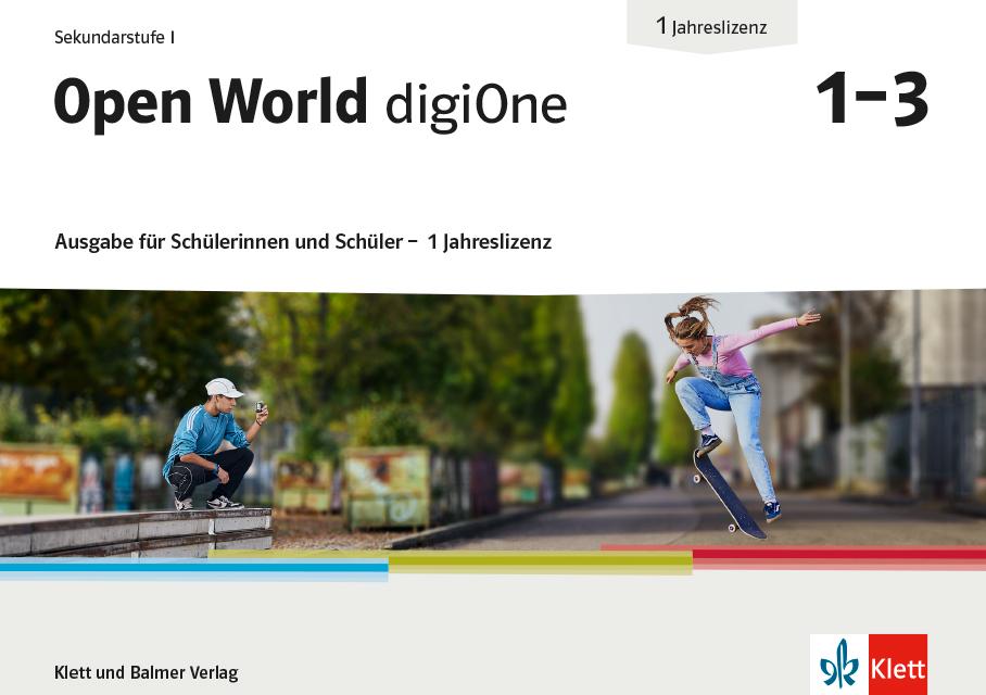 Open World digi One Ausgabe fuer Su S 1 Jahreslizenz 978 3 264 84826 7 klett und balmer