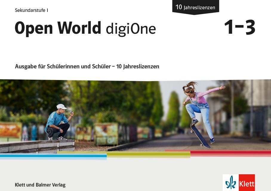 Open World digi One Ausgabe fuer Su S 10 Jahreslizenzen 978 3 264 84859 5 klett und balmer