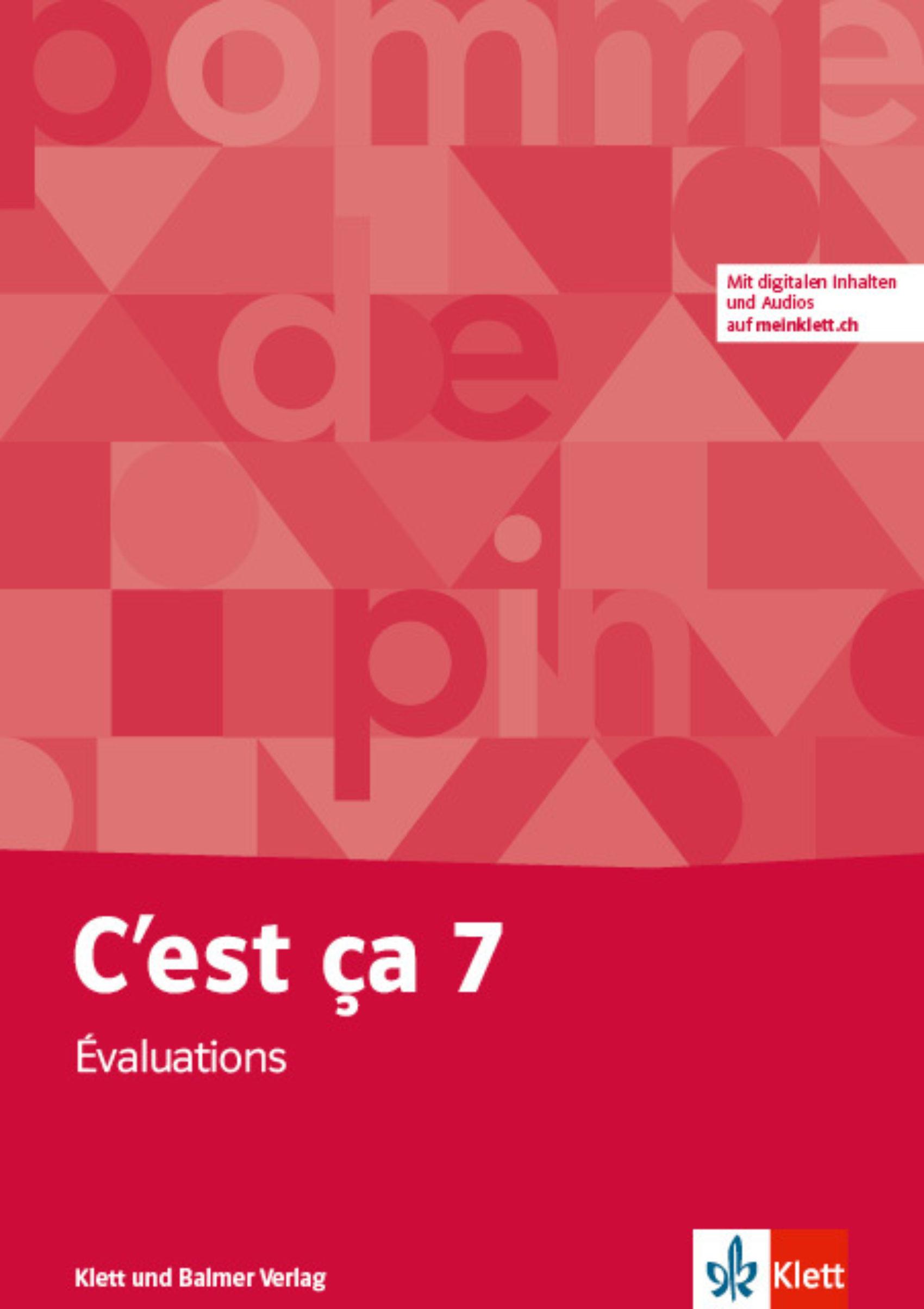 Evaluations 7 cest ca 978 3 264 84649 2 klett und balmer