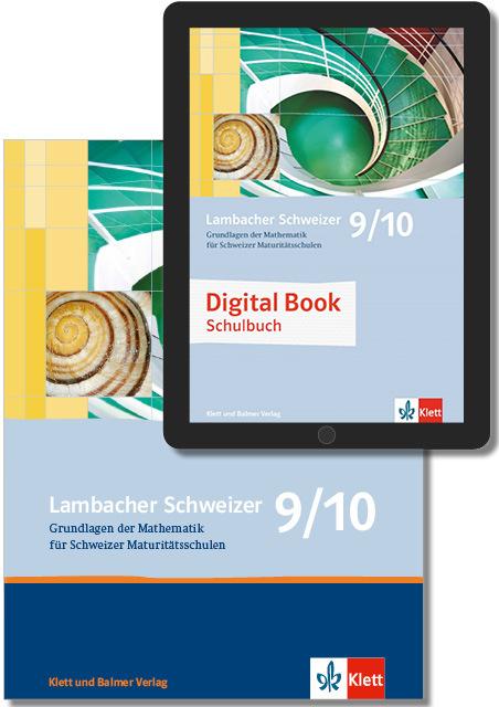 Paket schulbuch digitalbook lambacher schweizer 9 10 978 3 264 84589 1 klett und balmer