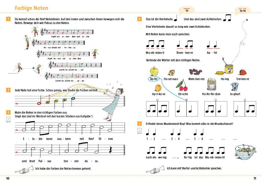 Seite 10 11 arbeitsheft 1 2 kreschendo 978 3 906286 57 0 klett und balmer