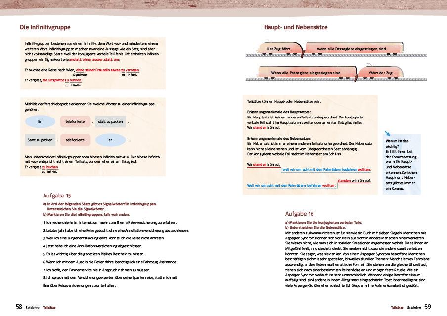 Seite 58 59 praktische uebungsgrammatik deutsch im detail 978 3 264 84187 9 klett und balmer