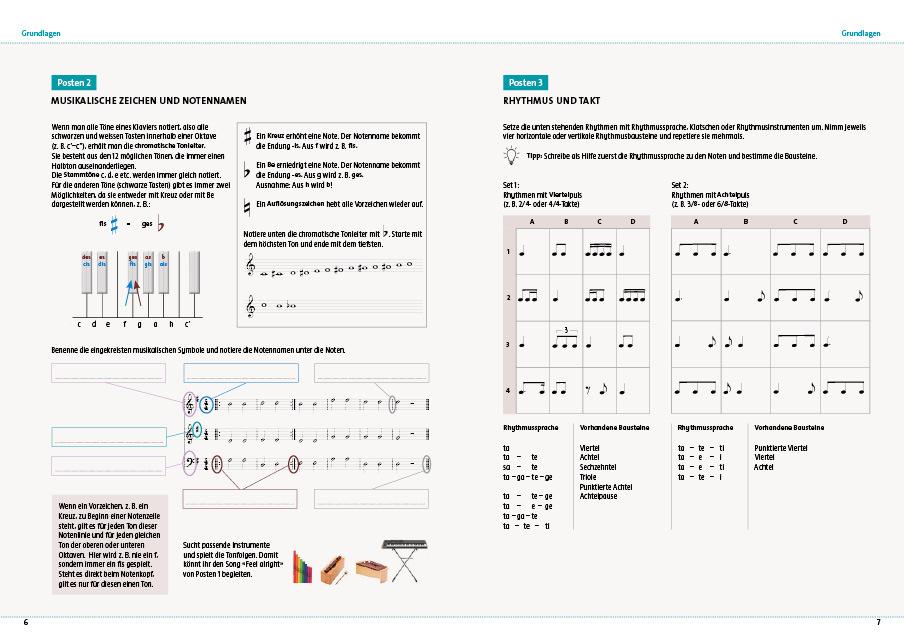 Seite 6 7 arbeitsheft 7 9 kreschendo 978 3 906286 77 8 klett und balmer