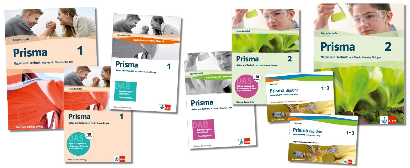 Teaser lehrwerksteile 1 2 prisma klett und balmer