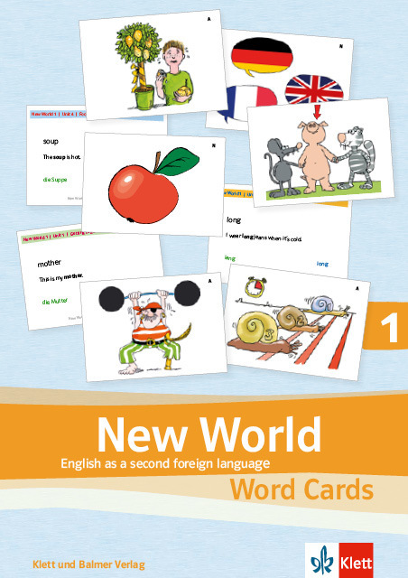 Word cards new world 1 978 3 264 84188 6 klett und balmer