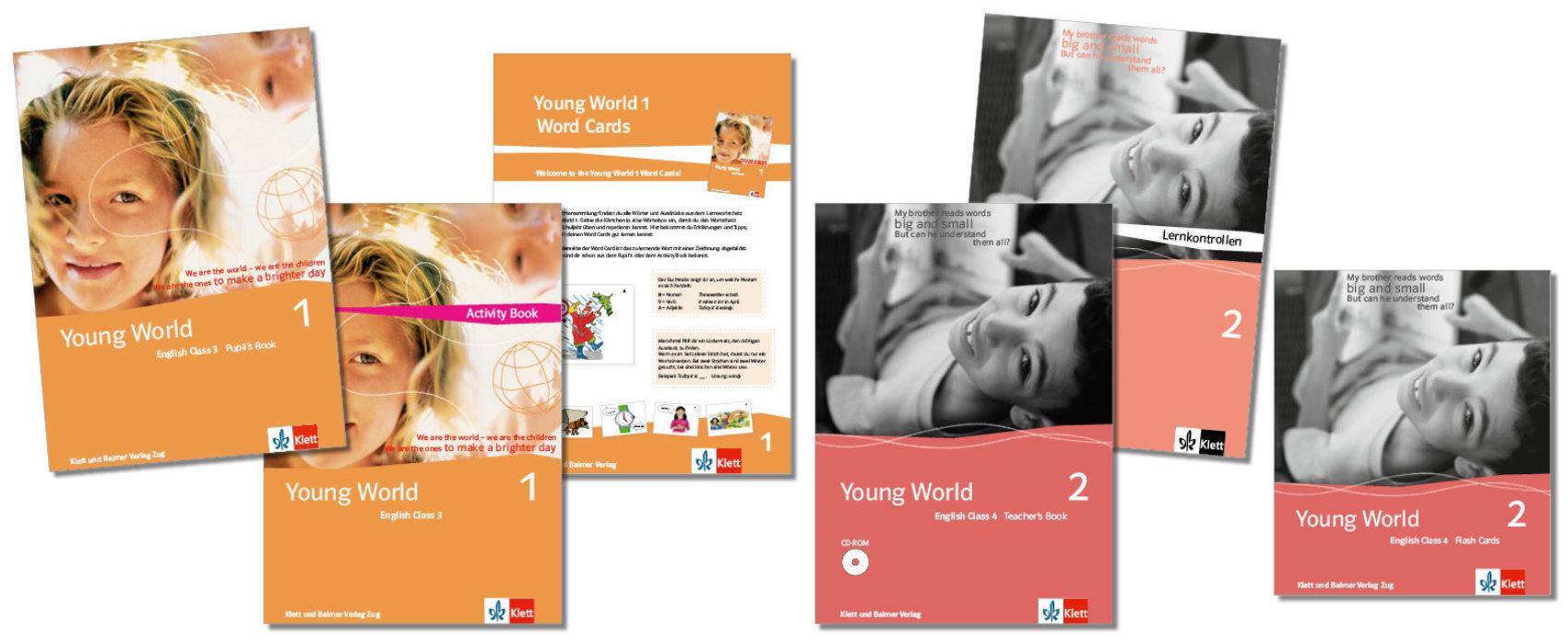 Teaser lehrwerksteile young world klett und balmer