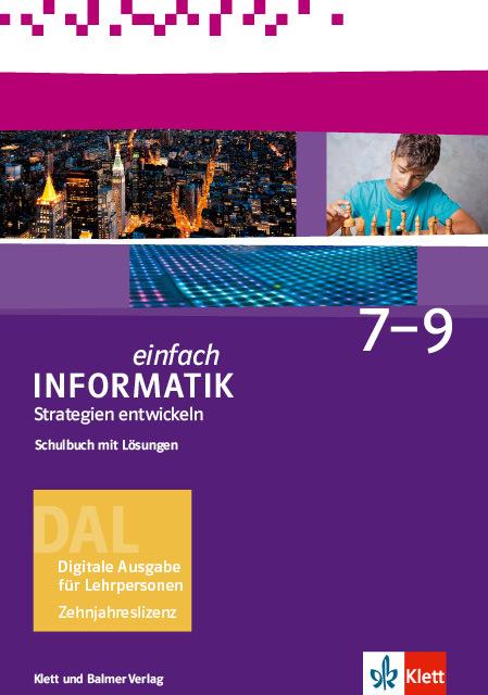 Dal einfach informatik 7 9 strategien 978 3 264 84471 9 klett und balmer