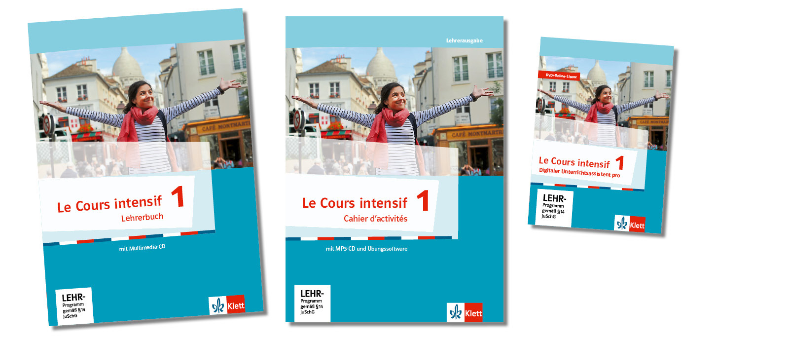 Teaser lehrwerksteile lehrerbuch cahier digital le cours intensif 1 klett und balmer