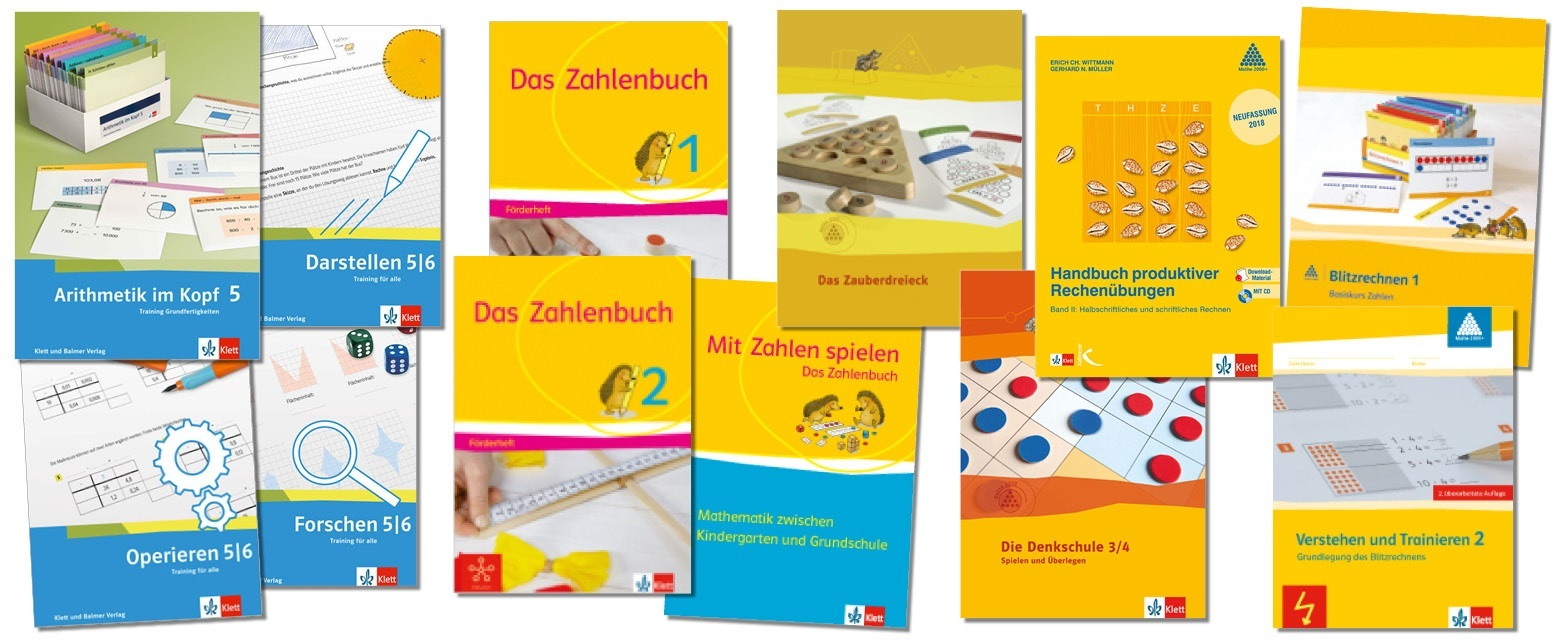 Teaser weitere produkte schweizer zahlenbuch klett und balme